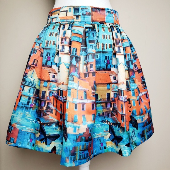 f81db9f13861 Alice + Olivia Dresses   Skirts - Alice + Olivia Venetian Butterfly Print  Skirt